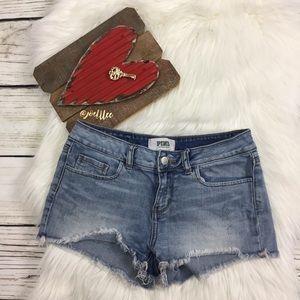 PINK by Victoria's Secret Cut Off Jean Shorts
